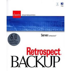Retrospect Server Backup 6.0 for Macintosh詳細へ