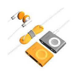 [iPod収納グッズ]Loop nano Starter kit Orange SJ-LPNNSK-OR-01詳細へ