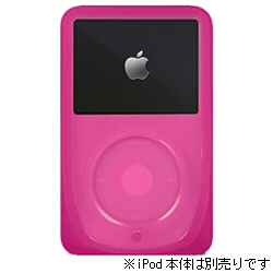 iPod 5G(60GB)専用 プロテクター『iSkin eVo3/Arctic Clear Frosted』(ピンク)詳細へ