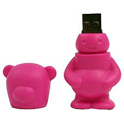 FATBEAR USB flash drive FB-256-ST (256MB ストロベリー)詳細へ