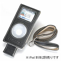 Luxa Plus case for iPod nano with lanyard-Black (N-LP)詳細へ